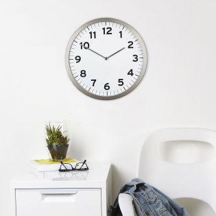 1005476-660  Anitime Clock-White