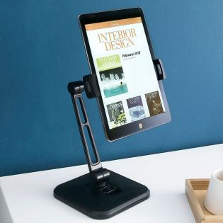 Padi-Blk  Phone & Tablet Stand