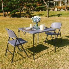 LF-86Z-YCD-50-2-Grey  Table Set
