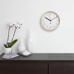 118140-668  Rimwood Wall Clock