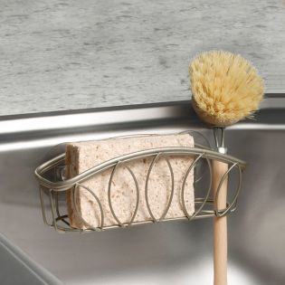 SPC-09577  Sponge & Brush Cradle-Nickel