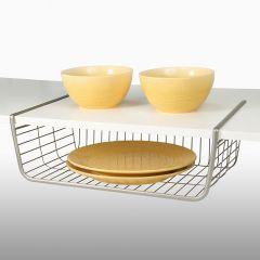 SPC-73077  M Shelf Basket-Nickel