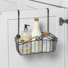SPC-82510  Scroll Towel Bar & M Basket