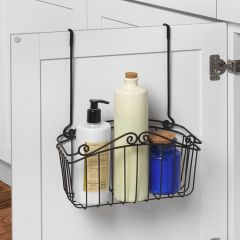 SPC-82610  Scroll Towel Bar & L Basket