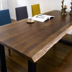 Muse Live Edge  Dining Table