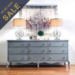 B3572-27W  9-Drawers Dresser