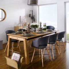 Detroit-8-Black-Cai Dining Set