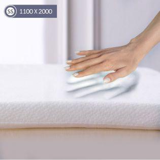 Memory Foam-1100 Super Single  Mattress Topper 1100
