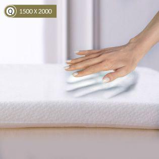 Memory Foam-1500 Queen  Mattress Topper 1500