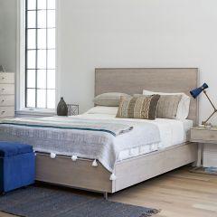 Tanne  Queen Panel Bed   w/ Storage (침대+협탁+화장대)