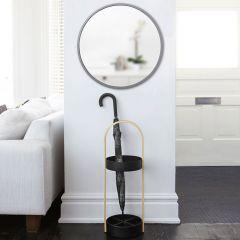 1008243-918   Hub Mirror 24-Grey