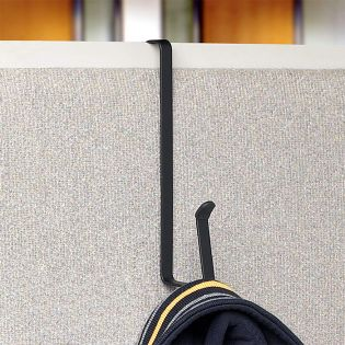 SPC-16710   Cubicle Hook-Black