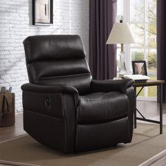 A209U-003-Chocolate Power Recliner w/USB