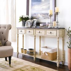 96623  4-Drawer Console