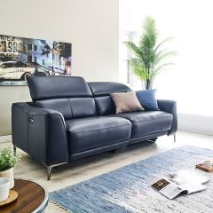 RS-A6253-2.5S2UA   Power Leather Recliner Sofa