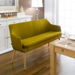 Nora-Curry-Fabric  Dining Bench