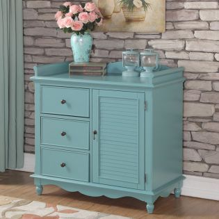 Baby Camy-Blue  3-Drawer Chest