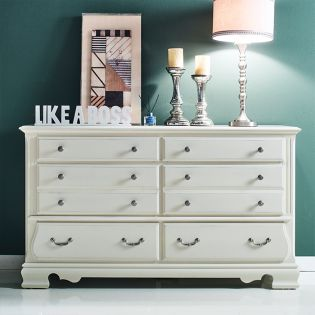 Tori-White-DR  Drawer Dresser