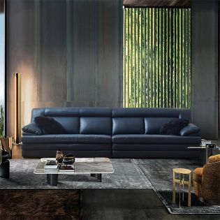 1035  Leather Sofa (2+2)