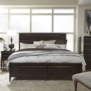 B4769  Panel Storage Bed