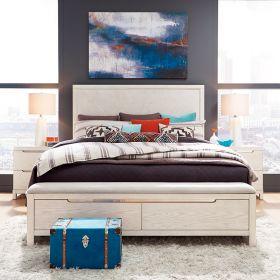 11 West 9600  Panel Bed w/ Storage  (침대+협탁+화장대)