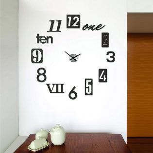 118430-040  Wall Clock
