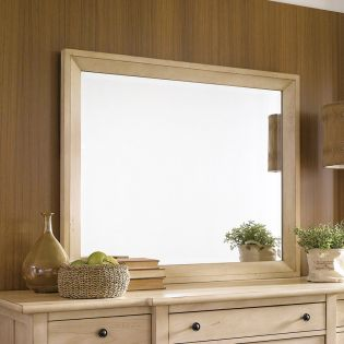 Modern Country-Linen  Mirror