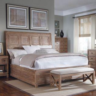 93155 Malibu  Sleigh Queen Bed