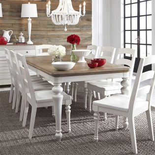 Farmdale 9770L  Dining Set  (1 Table + 6 Side)