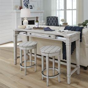 Belhaven 9360  Sofa Table w/ Stool  (1 Table + 2 Stools)