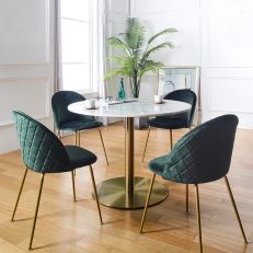 Corby-4  Dining set (1 Table + 4 Chairs)