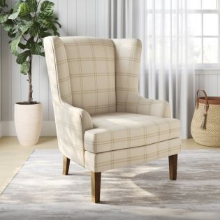 Lacroix-Parchment  Accent Chair