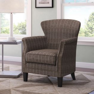 Layla-Mocha  Accent Chair