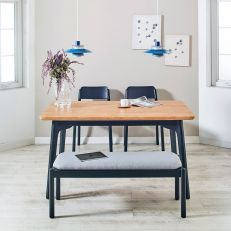 Obey-4  Dining Set  (1 Table + 2 Chair + 1 Bench)