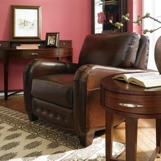 7651  Leather Chair