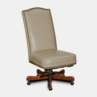 EC373-081  Top Leather CEO Chair (Ivory)