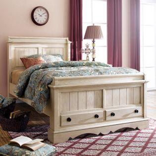 YB747  Panel Single Bed (침대) (매트 규격: 120cmx 200cm)