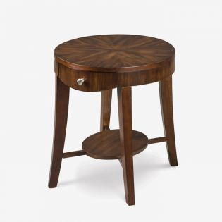 T1408-07  Oval End Table