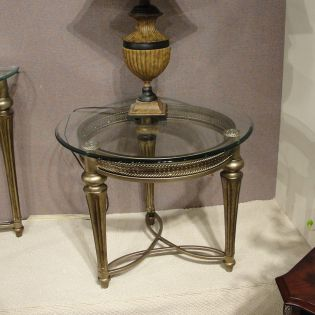 37504  Galloway Round End Table