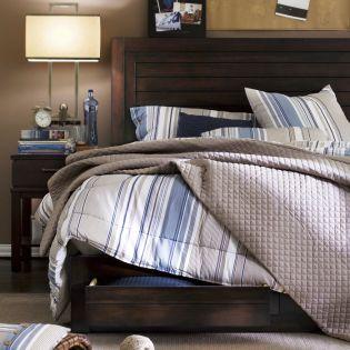 Nautica-105  Panel Bed (침대+협탁+화장대) ~Nautica Brand / 최고의 명품~