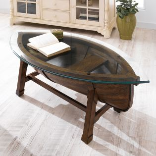 T2214-47  Oval Cocktail Table
