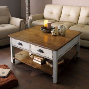 6686-032  Square Cocktail Table