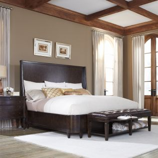 202165 Classic  Panel Bed (침대+협탁+화장대)
