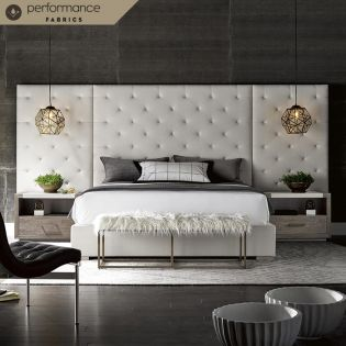 Brando  Panel Bed (Wings option)