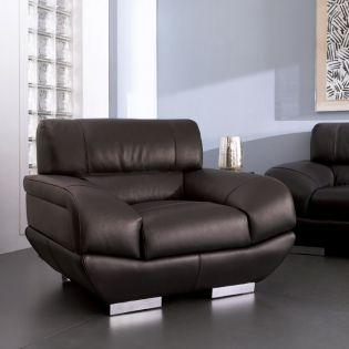 DIV 837-Espresso  Leather Chair