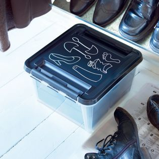 8290 Deco 12 Shoe Care Box w/ Lid
