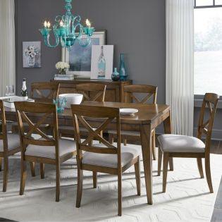 Highland 9700  Dining Set  (1 Table + 6 Side)