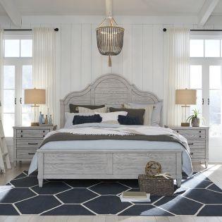 Belhaven 9360  Panel Bed  (침대+화장대+협탁)