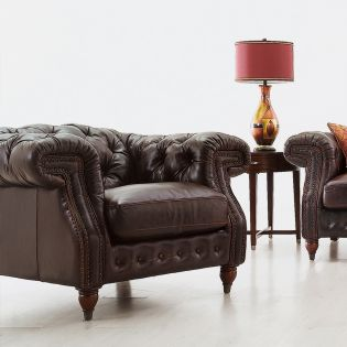 7293  Leather Chair