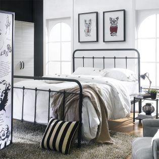 DS-2645-290  Queen Metal Bed